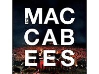 Maccabees 27th June concert in Manchester - 2 tickets