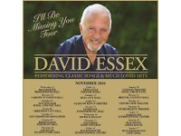 2x David Essex Tickets for Sale