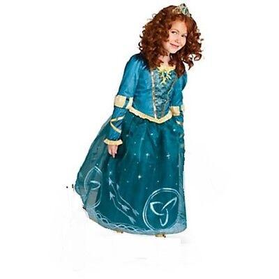 MERIDA~Costume~Girls 5/6~7/8~BRAVE~NWT~Disney Store~2014