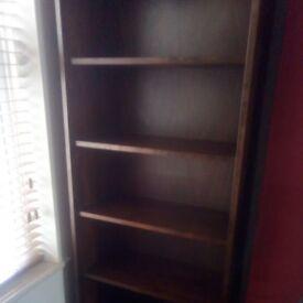 bookcase/display shelving unit