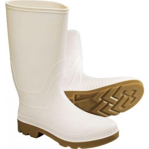 "Servus 12"" PVC Polyblend Soft Toe Shrimp Boots, White (74928) 74928-WHM-080"