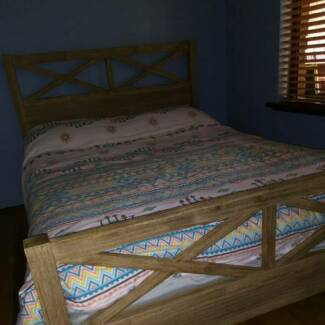 Double Bed and Mattress for Sale in excellent condition