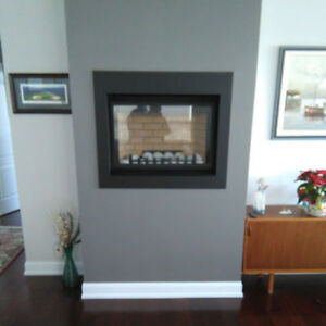 Continental Natural Gas Fireplace Insert - Only $500!!