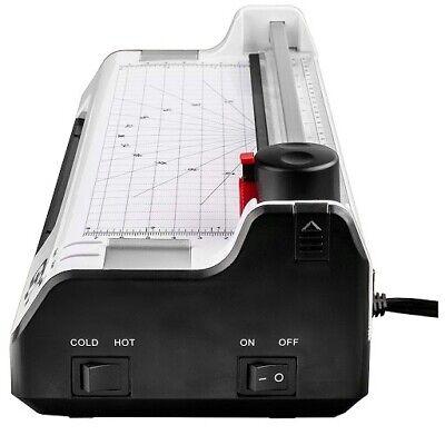 6 In 1 Hot Cold Film Laminator Laminating Machine Cutter Corner Rounder Lace A3