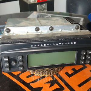 98-13 Harley Davidson OEM Touring Harmon-Kardon Radio CD Player,
