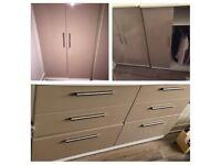 Tall boy wardrobe doorsand matching drawers (please read description)