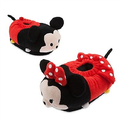 TSUM TSUM~Adult~SLIPPERS~MICKEY + MiNNiE MOUSE~Shoes~Disney Store