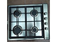 Candy stainless steel gas hob