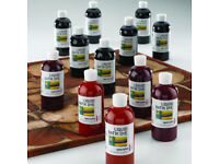 12 x 300ml bottles of Specialist Crafts Liquid Batik Dyes - BRAND NEW - Fabric dyeing, painting, etc