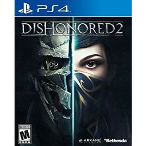 Dishonored 2 Ps4 mint
