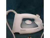 Iron: Rowenta powerglide, in perfect working order, steam amd spray functions