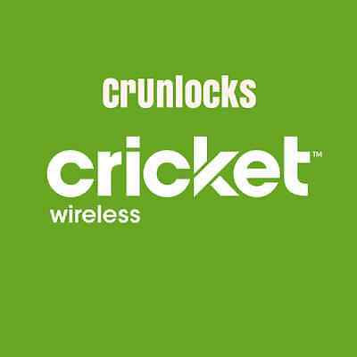 CRICKET IPHONE UNLOCK SERVICE all models 1-3 days
