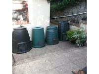 Garden Compost Bins 4 available