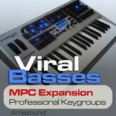 Access virus basses mpc Expansión Programas & Keygroups Listo Formato download