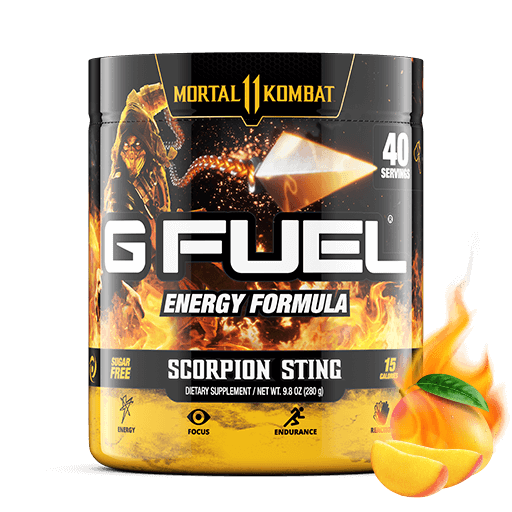 Gamma Labs G Fuel Scorpion Sting GFuel 40 Servings