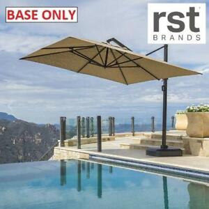 NEW* RST UMBRELLA BASE W/FOOT PEDAL OP-MKT10-PORIII-2 252298110 PORTOFINO PATIO OUTDOOR BASE ONLY
