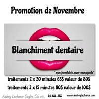 Blanchiment dentaire