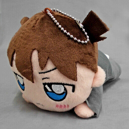 Detective Conan Shinichi Kudo mascot Plush 15cm Stuffed toy doll CN22 JAPAN
