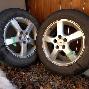 4 Continental Contac - tires with rims