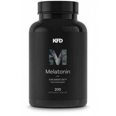 Sleeping Pills Stress Anxiety Sleep Aid Serotonin MEGA PACK 200 CAPSULES 🇬🇧