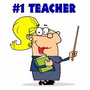 OCT Certified Math Teacher/Tutor;9-12;ILC(Scarborough;Portunion)
