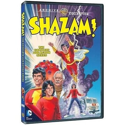 Shazam! The Complete Live Action TV Series DVD 1974 Michael Grey