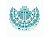 2 seated Bruno Mars tickets - Glasgow 13th April 2017