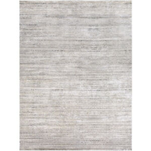 Brand New 6'7x9'6 Surya Tibetan Grey Area Rug