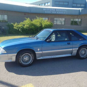 1989 Mustang  GT (25th Anniversary Edition)