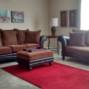 Leather and Fabric Furniture