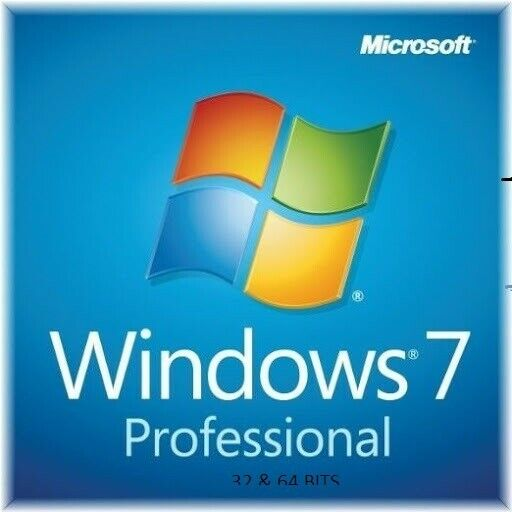 WINDOWS 7 Professional SP1 WITH ORIGINAL LICENSE COA FULL