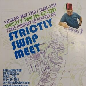 Strictly Swap Meet Saturday May 12th 10am-1pm