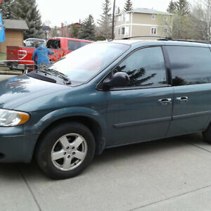 2007 Dodge Caravan SXT Accident-free