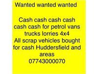 All scrap cars and vans bought fir cash
