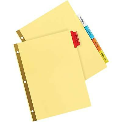 Avery® Gold Reinforced Big Tab™ Insertable Dividers 5 Tabs per Pack **6-PACKS**