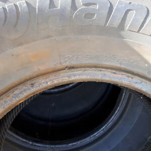 4 Studded 265/75R 16 Winter Truck Tires, Excellent Condition