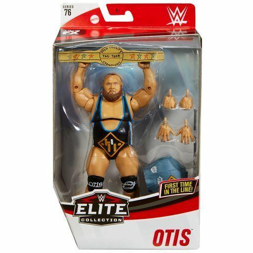 WWE Mattel Heavy Machinery Otis Elite Series #76 Figure