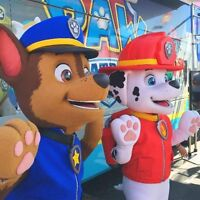Paw Patrol Mascots, Face Painting, Dance Parties & MORE !
