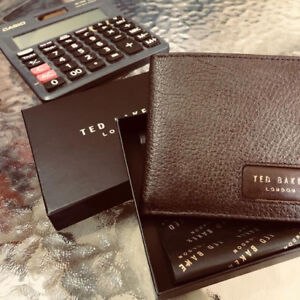 Brand New embossed leather wallet