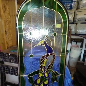Beautiful Stained Glass Window.  Architectural Salvage