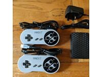 Retro-gaming System with 2 controllers