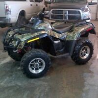 WANTED: Wrecked,Blown,Crashed,Swamped,Rolled.. Can Am Only ATVs