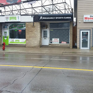 STOREFRONT FOR LEASE: GREAT LOCATION / UPPER JAMES ST.