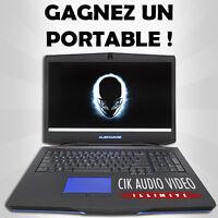 Gagnez un portable Alienware!