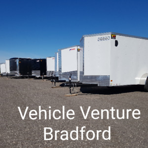 Vehicle Venture Now Open! Trailers! Enclosed, Dump and more!