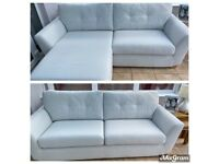 Dfs rafaella large 4 seater sofa or can be chaise new