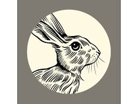 The Resting Hare - a young bar and brasserie by Euston - is recruiting for front of house