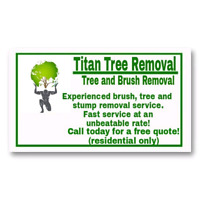 Titan Tree and Brush Removal