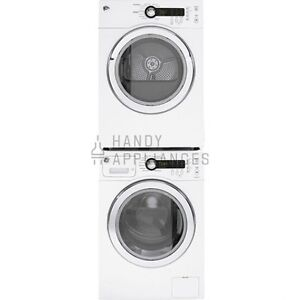 Laundry Center, 24'', White, Front-load, NEW!
