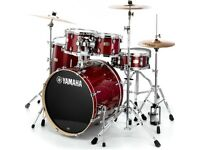 Drum Kit Weekend Hire, ideal for festivals or one off gigs.